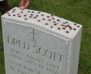 Dred Scott Tombstone