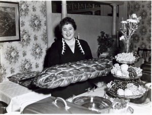 gertrude with challah 300