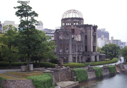Rain in Hiroshima